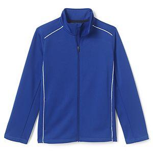 Kids 7-20 Lands' End School Uniform Active Track Jacket