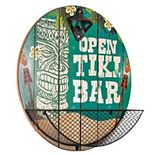 Tiki Wall Bottle Opener & Cap Catcher