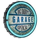 Big Daddy's Garage LED Wall Sign