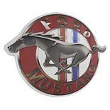 Vintage Ford Mustang Logo Metal Sign