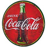 Coca Cola Oversized Metal Wall Sign