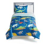 The Big One® Kids Everett Skating Dino Reversible Comforter Set with Shams