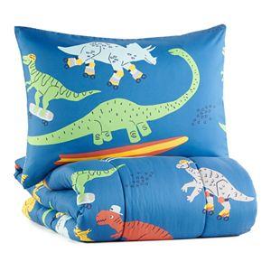 The Big One® Everett Skating Dino Comforter Set and Sham Set