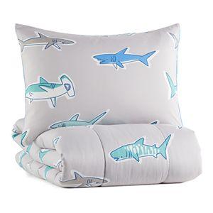 The Big One® 2-piece Carson Shark Comforter Set and Shams