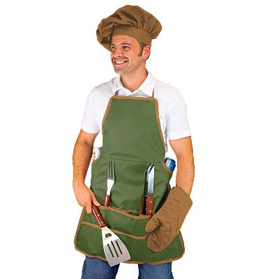 Picnic Time 6-pc. Barbecue Apron Set