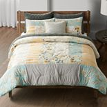 Sonoma Goods For Life® Laurel Patchwork Comforter Set and Shams