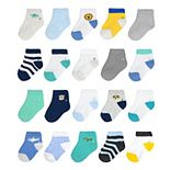 Baby / Toddler Boy Jumping Beans® 20 Pack Ankle Socks
