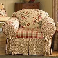 Sure Fit™ Lexington Floral Chair Slipcover