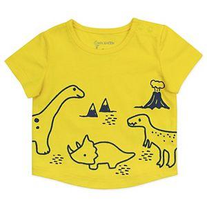 Baby Mac & Moon 2-Piece Dinosaur Print Shorts Set