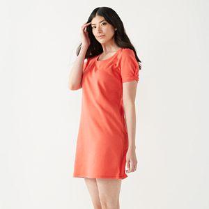 Women's Nine West Twist-Sleeve Dress