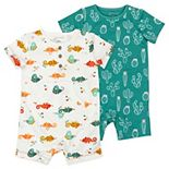Baby Boy Mac & Moon 2-Pack Romper