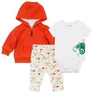Baby Boy Mac & Moon Chameleon Bodysuit, Jacket & Pants Set