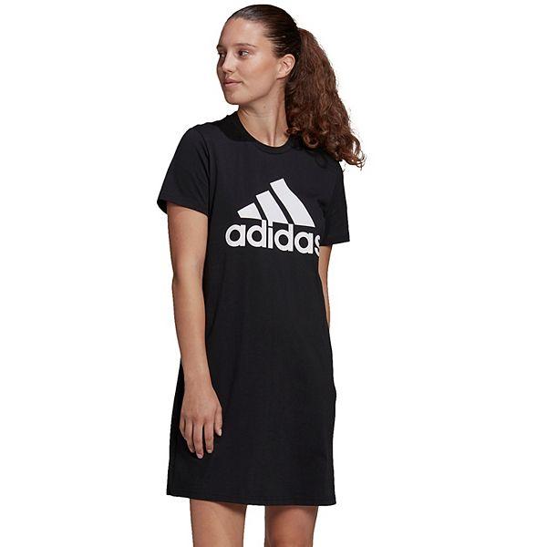 Plus Size adidas Badge of Sport T-Shirt Dress