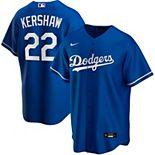 Men's Nike Clayton Kershaw Royal Los Angeles Dodgers Alternate 2020 Replica Player Jersey