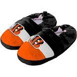 Toddler Cincinnati Bengals Color Block Close Back Slippers