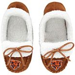 Youth Chicago Bears Moccasin Slippers
