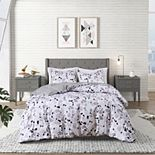 CosmoLiving by Cosmopolitan Terrazzo Cotton Printed Comforter Set