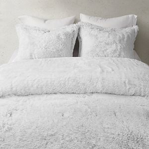 CosmoLiving by Cosmopolitan Cleo Ombre Shaggy Faux Fur Comforter Set