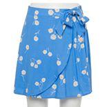 Juniors' SO® Faux Wrap Skirt
