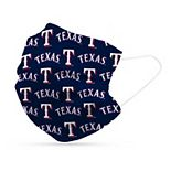 Adult Texas Rangers 6-Pack Disposable Face Masks