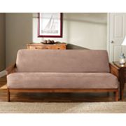 Sure Fit Faux-Suede Futon Slipcover