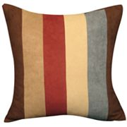 Sure Fit Faux-Suede Striped Accent Pillow