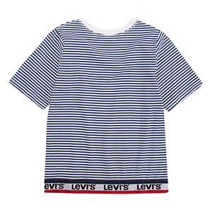 Girls 7-16 Levi's® Striped Logo Trim Tee
