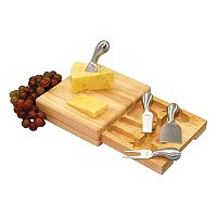 Picnic Time® Festiva 5-pc. Cheese Board Set