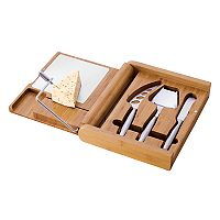 Picnic Time® Soiree 5-pc. Bamboo Cheese Board Set