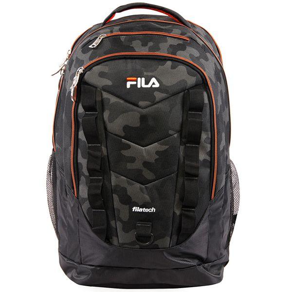 FILA™ Deacon 5 XXL Backpack - Black Camo Orange