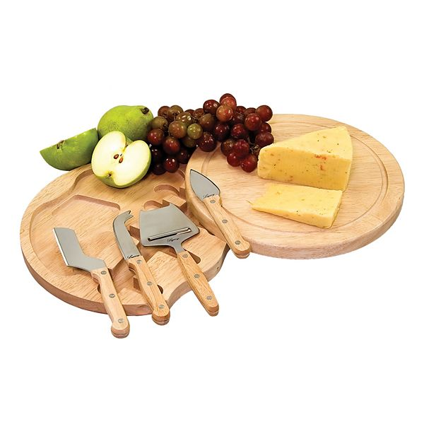 Picnic Time Circo 5 Piece Cheese Board Set