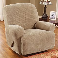 Sure Fit™ Royal Diamond Recliner Slipcover