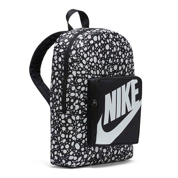 Nike Classic Kids Backpack - Black White