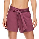 Women's Gaiam Park Tie-Front Shorts