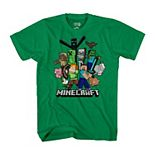 Boys 8-20 Short Sleeve Minecraft Graphic Tee