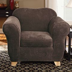 Sure Fit™ Royal Diamond Chair Slipcover