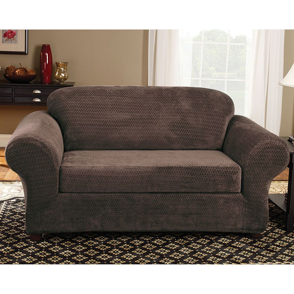 Sure Fit™ Royal Diamond Sofa Slipcover