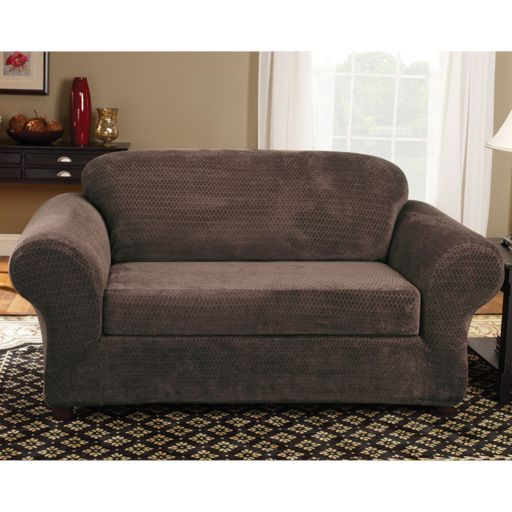 Sure Fit Royal Diamond Sofa Slipcover