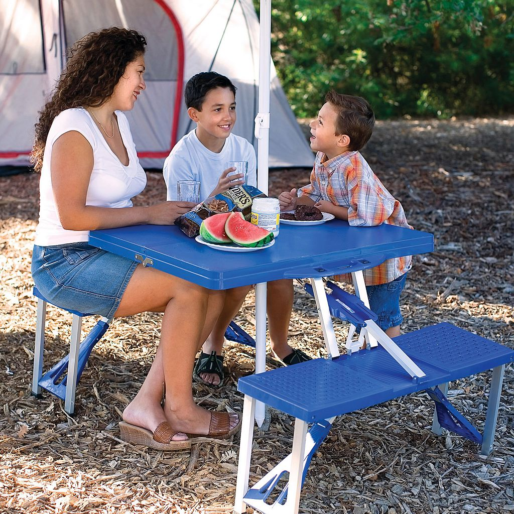Picnic Time Foldable Table