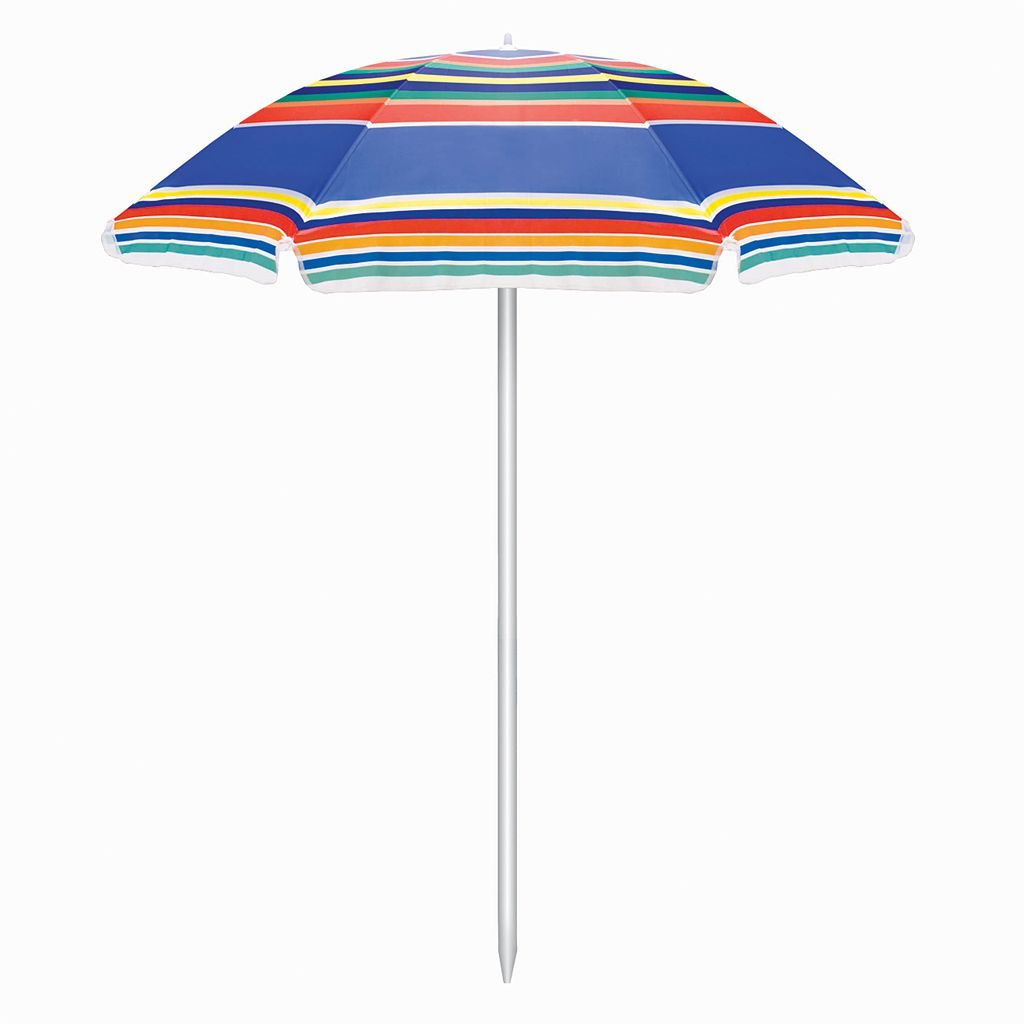 Picnic Time Striped Patio Umbrella
