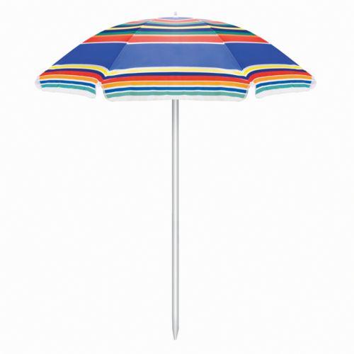 Picnic Time Striped Patio Umbrella