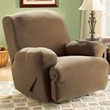 Sure Fit? Pin-Striped Recliner Slipcover