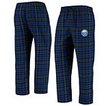Men's Concepts Sport Royal/Black Buffalo Sabres Parkway Flannel Sleep Pants