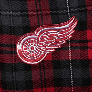 Men's Concepts Sport Red/Black Detroit Red Wings Parkway Flannel Sleep Pants