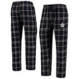 Men's Concepts Sport Navy/Gray Toronto Maple Leafs Parkway Flannel Sleep Pants