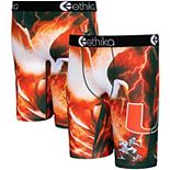Youth Ethika Miami Hurricanes All About the U Collegiate Boxer Briefs