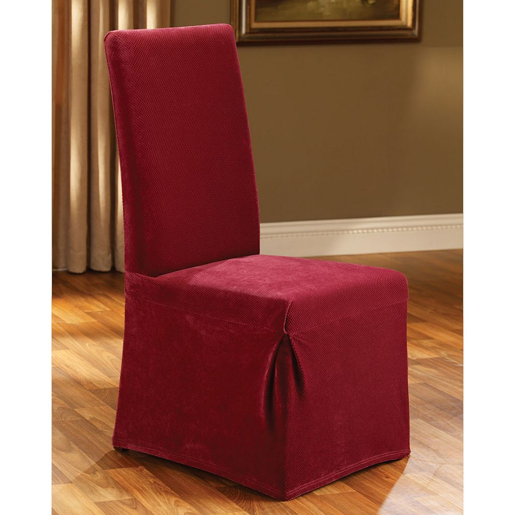 Sure Fit Pique Skirted Dining Chair Slipcover