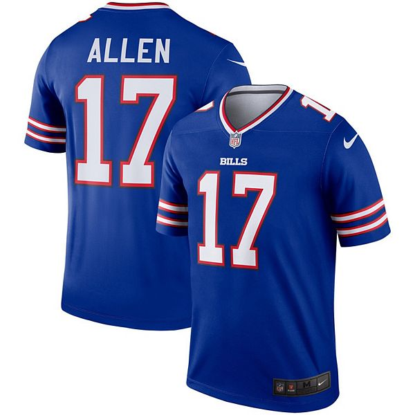 Men's Nike Josh Allen Royal Buffalo Bills Legend Jersey