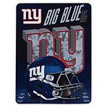 The Northwest Company New York Giants 60'' x 80'' State Pride Throw Blanket