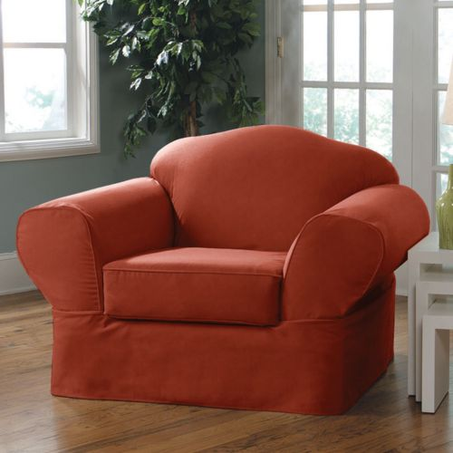 Sure Fit Twill Supreme Chair Slipcover